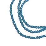 MATUBO Firepolish Flash Pearl Capri Blue 2mm 150pcs