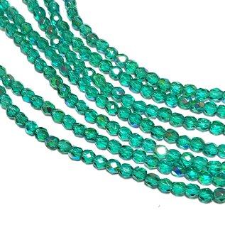 MATUBO Firepolish Emerald AB 3mm