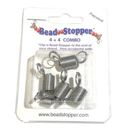 Bead Stopper Combo Pack - 4Reg & 4Mini