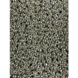 MIYUKI Rocaille 8-0 Galvanized Silver 25g