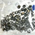 Preciosa Crystal 6mm Bicone Crystal Monte Carlo 7spcs