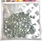 Preciosa Crystal 6mm Bicone Crystal Viridian 72 pcs