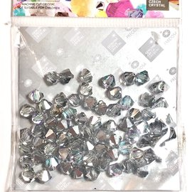 Preciosa Crystal 6mm Bicone Crystal Vitrail Light 72pcs