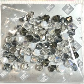 Preciosa Crystal 6mm Bicone MIX Apparition 72pcs