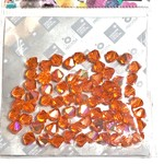 Preciosa Crystal 6mm Bicone Sun AB 72pcs