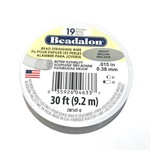 "BEADALON Bead Wire 19 Str .015"" Bright 30'"