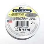 "BEADALON Bead Wire 19 Str .018"" Bright 30'"