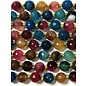 AGATE Spring Multiple Colours 8mm Faceted