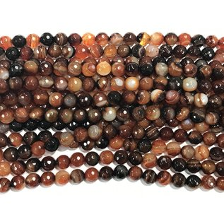 Dream Agate 8mm Faceted