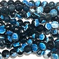 Fire AGATE Deep Sky Blue 8mm Faceted