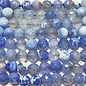 Fire AGATE Light Sky Blue 6mm Faceted