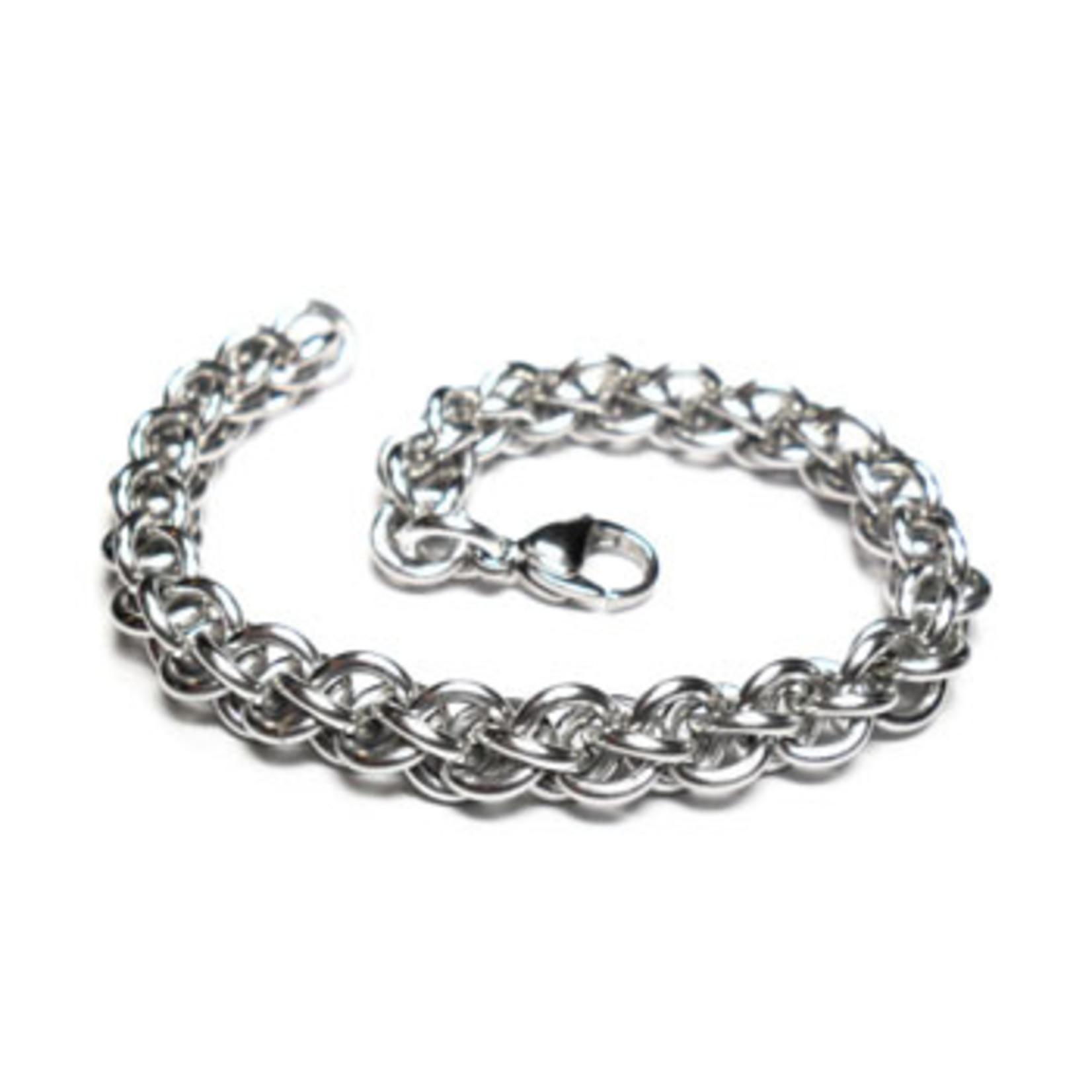 Hyperlinks Chain Maille Jens Pind Linkage (JPL) Bracelet Kit