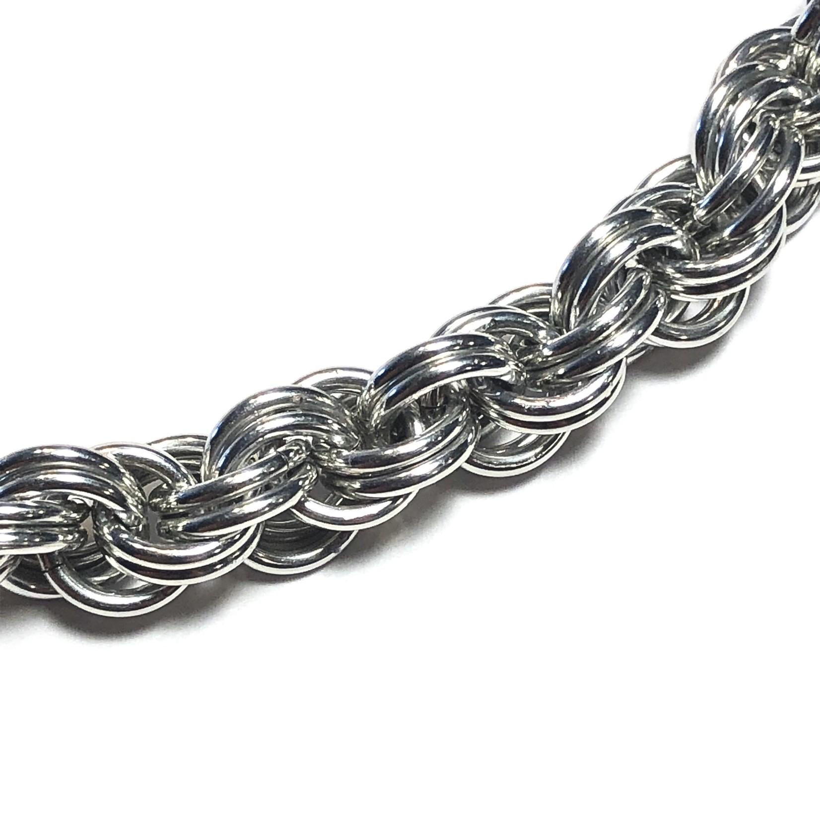 Hyperlinks Chain Maille Double Spiral Bracelet Kit