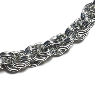 Chain Maille Double Spiral Bracelet Kit