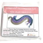 Chain Maille Box Chain Bracelet Kit Seafoam & Brown