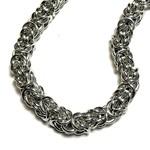 Chain Maille Byzantine Bracelet Kit (Bright Alum)