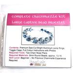 Chain Maille 8mm Captive Bead Bracelet Kit