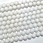 Jade (Candy, Mountain) Dyed White 8mm Round
