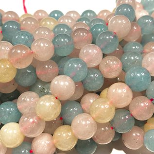 COMMON JADE Natural Spring Colours 8mm Round