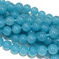 Common JADE Dyed Dark Cyan 8mm Round