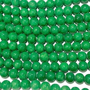 CANDY JADE Dyed Turf Green 8mm Round