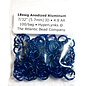 "Anodized Aluminum Rings 18ga 7/32"" Blue 100pcs"