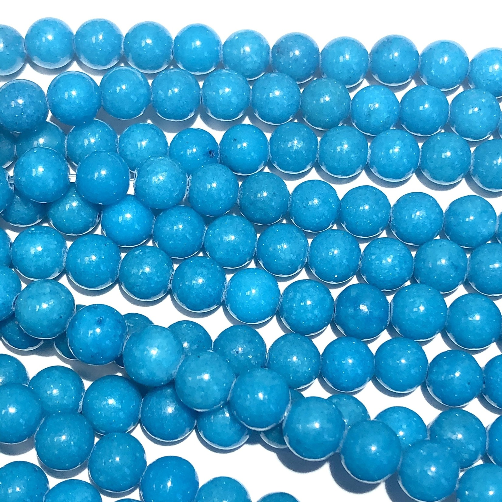 Candy Jade Dyed Sky Blue 6mm Round