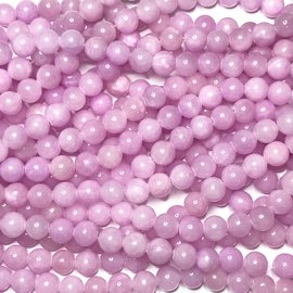 COMMON JADE Dyed Lilac 8mm Round
