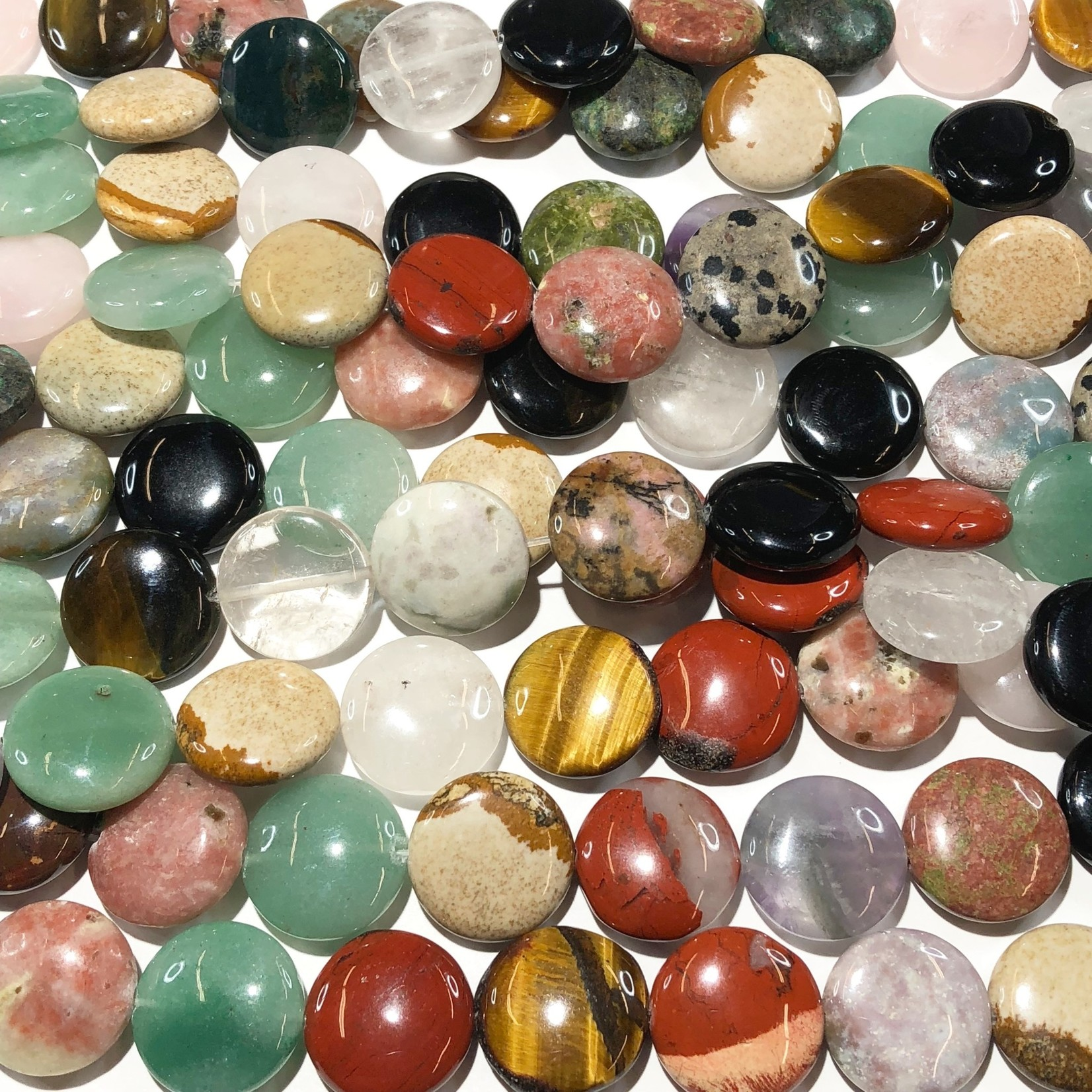 GEMSTONE Assorted 20mm Coin