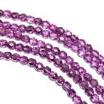 Firepolish Metallic Ice Crystal Purple 4mm