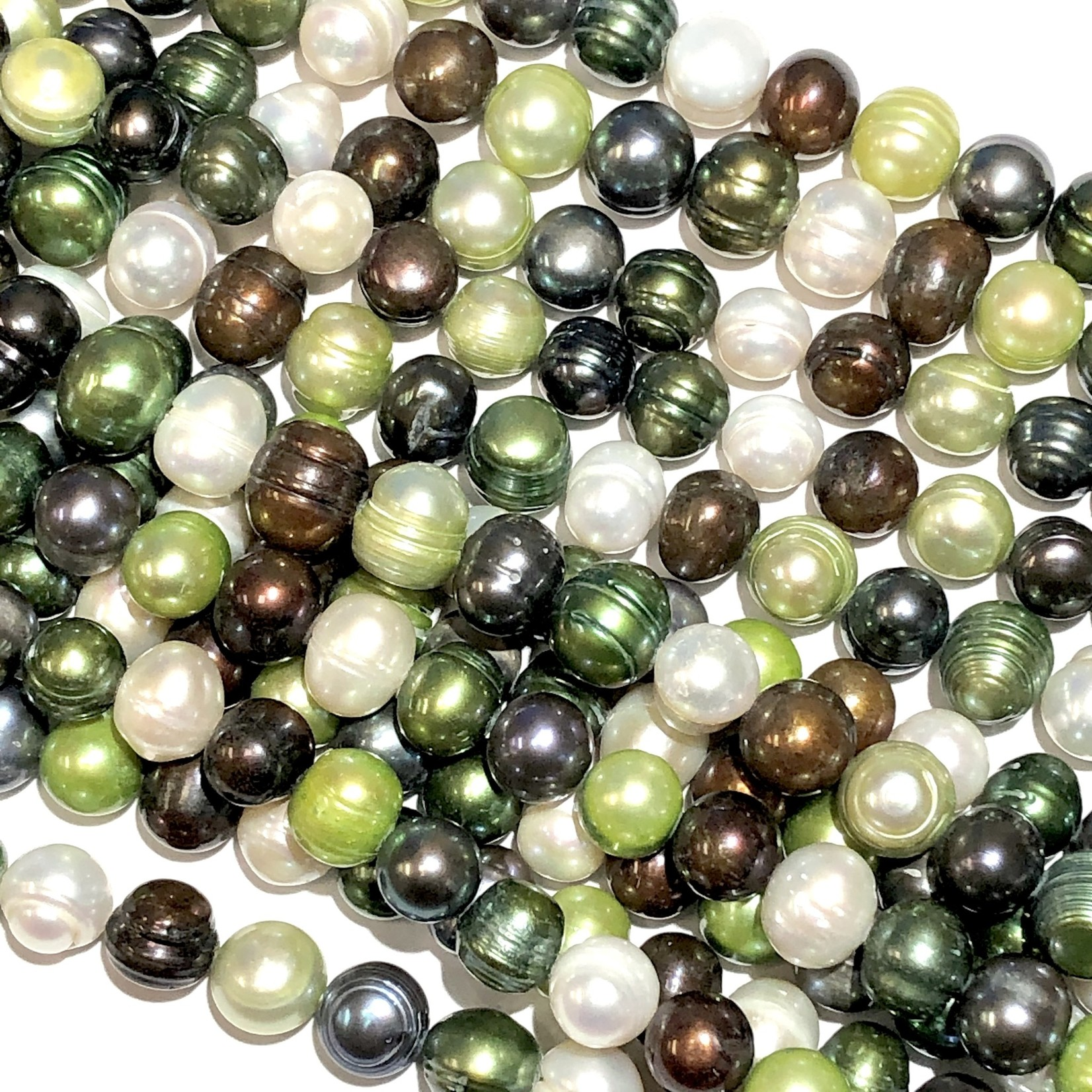 F/W PEARL Dyed Asst Colours 8x10mm Potato