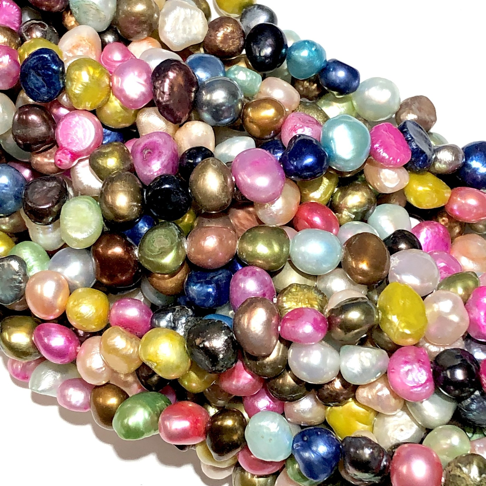 Fresh Water PEARL Dyed Assorted 7-9mm Nugget