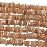 SUNSTONE Natural 9-15mm Flat Nuggets Grade A