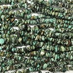 """Natural AFRICAN TURQUOISE Chips Beads 32"""""""