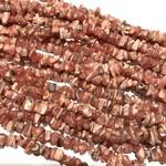 RHODOCHROSITE (Natural) Chips 32 inch strand