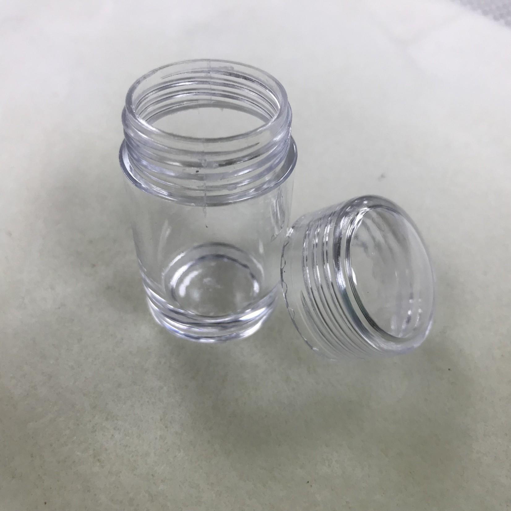 30 Bottle Plastic Bead Storage Container 5.4cm