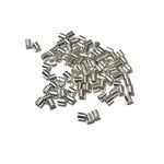 Sterling Silver Crimp Tubes 2x2mm 50pcs