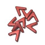 Potomac Beads Potomac Exclusives Ava® Lava Red 20pcs