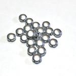 Potomac Beads Potomac Exclusives DiscDuo® Aluminium Silver 50pcs