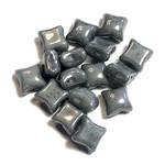 WibeDuo® Chalk White Grey Luster 25pcs