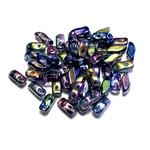 Potomac Beads Potomac Exclusives StormDuo® Crystal Magic Blue 80pcs