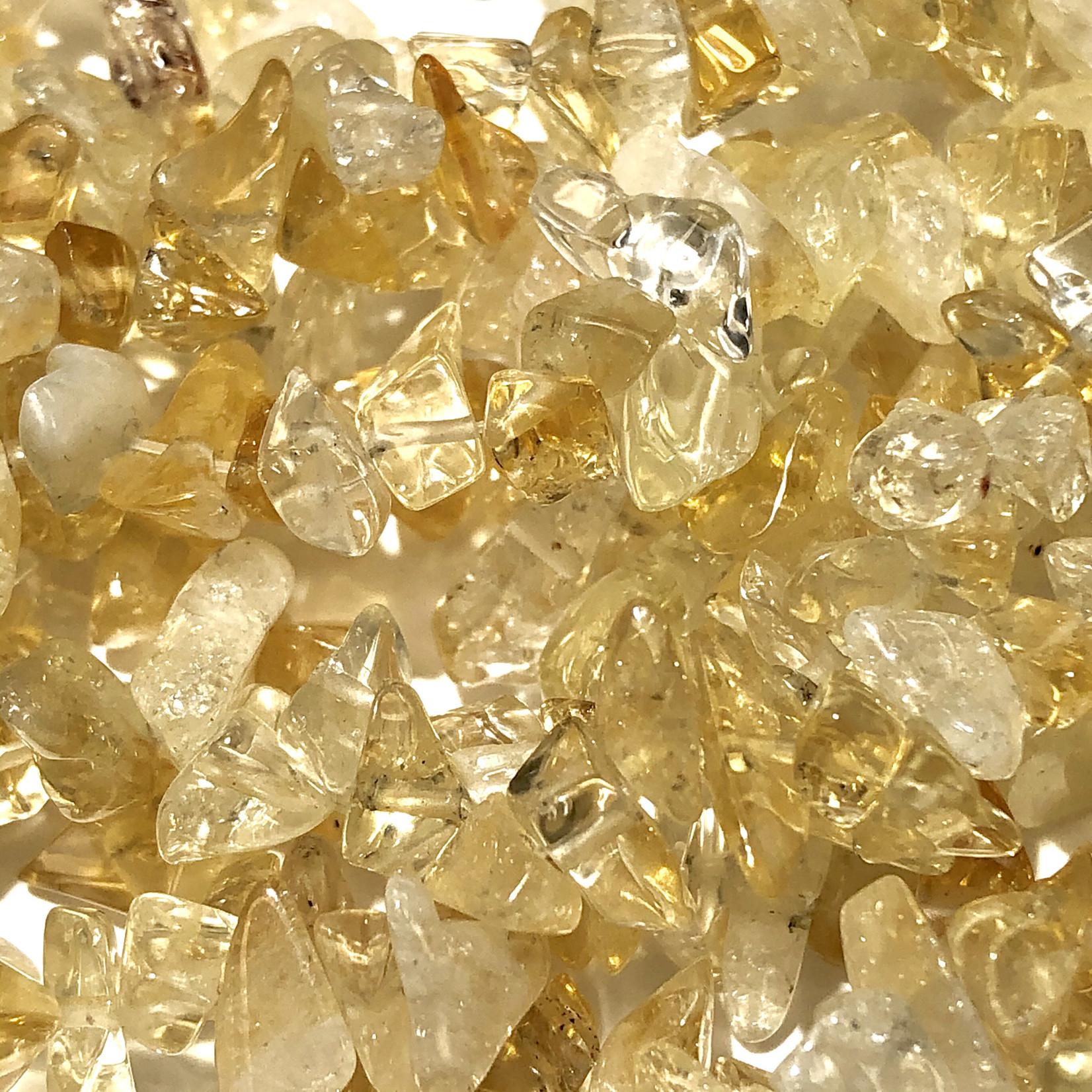"CITRINE Chip Beads 34"" Strand"