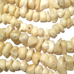 Undyed Natural Bamboo Coral Chips