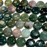 AGATE Indian Natural 18mm Coin