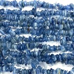 "KYANITE Natural Chip Beads 15"" Strand"