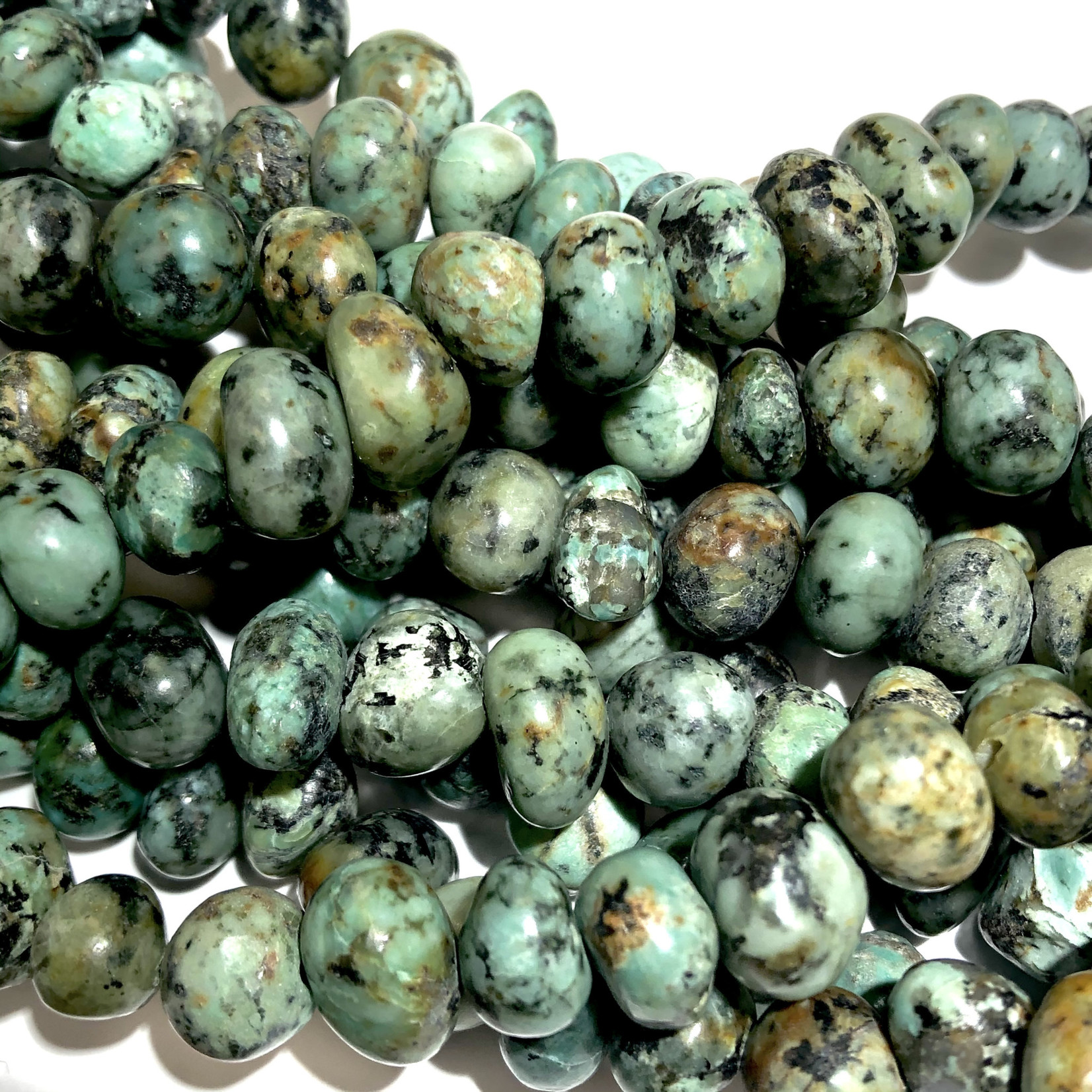 AFRICAN TURQUOISE Natural 8-12mm Nuggets