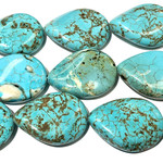 MAGNESITE Twisted Teardrops 18 X 25mm