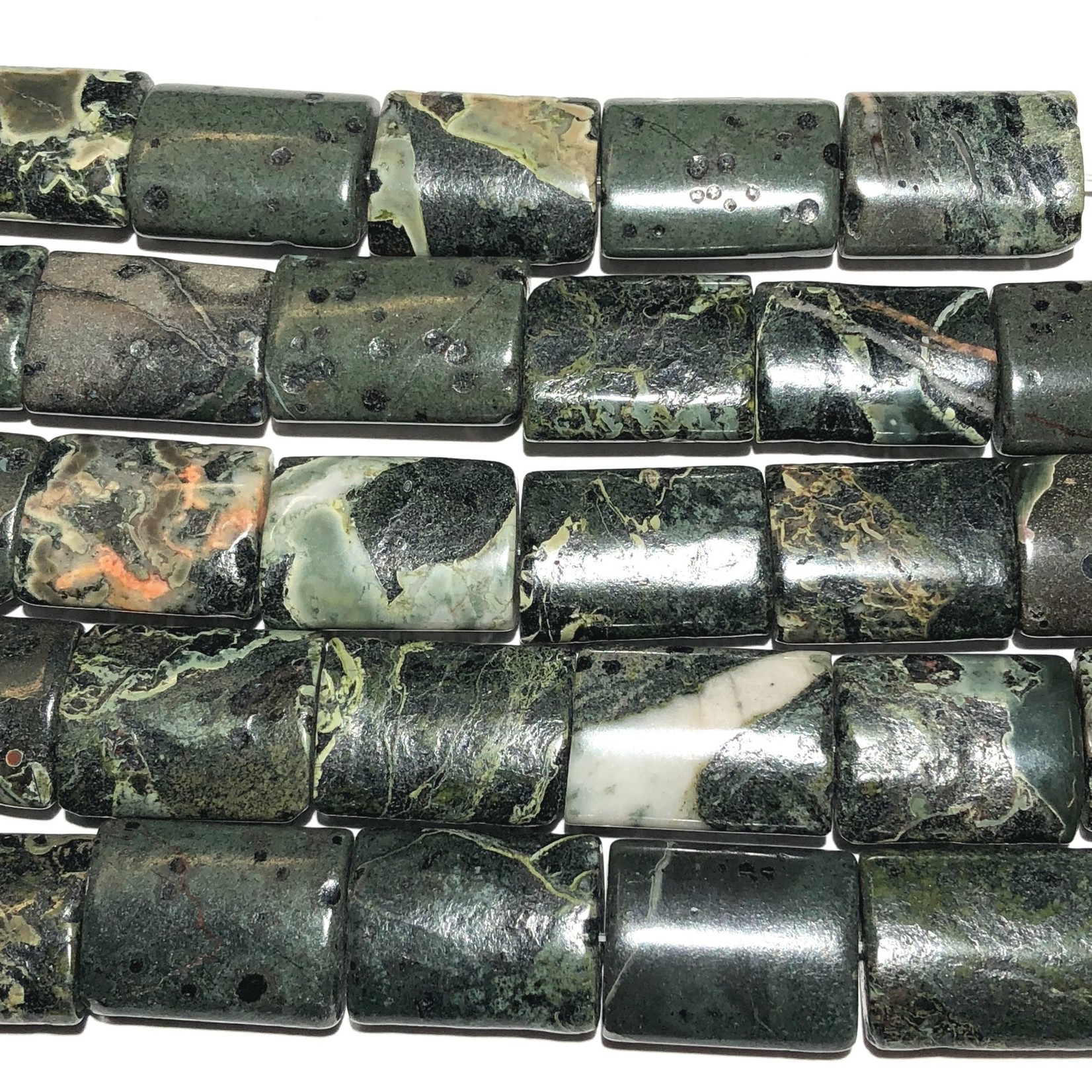 Camouflage Stone Natural 20 X 21mm Rectangle