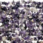 "Natural Amethyst Grade AB Chip Beads 32"" strand"