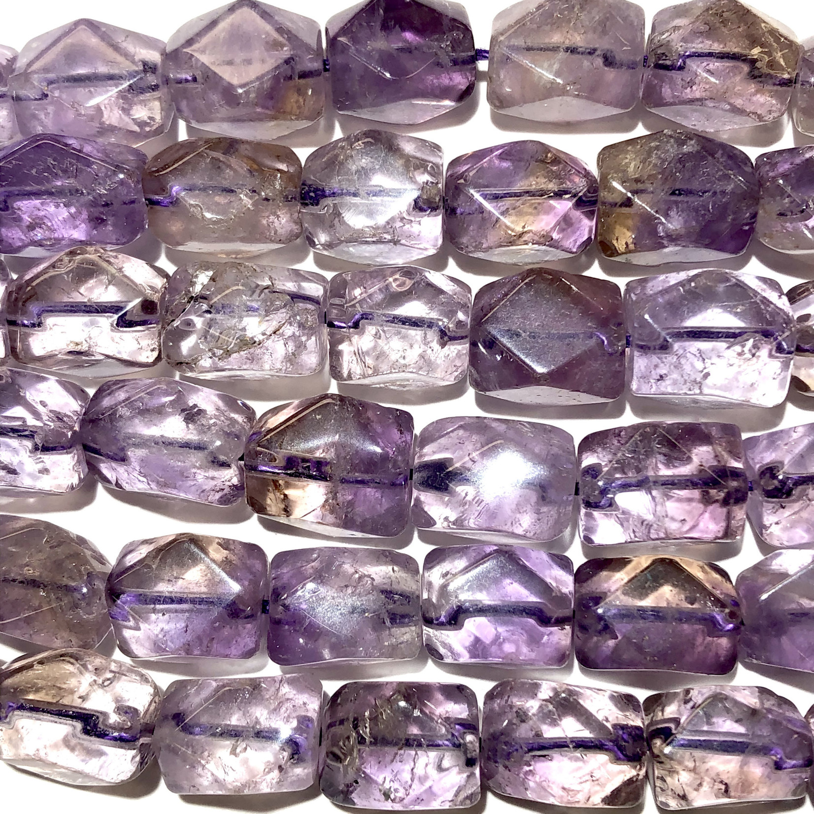 Faceted AMETRINE Natural 14-16mm Nuggets